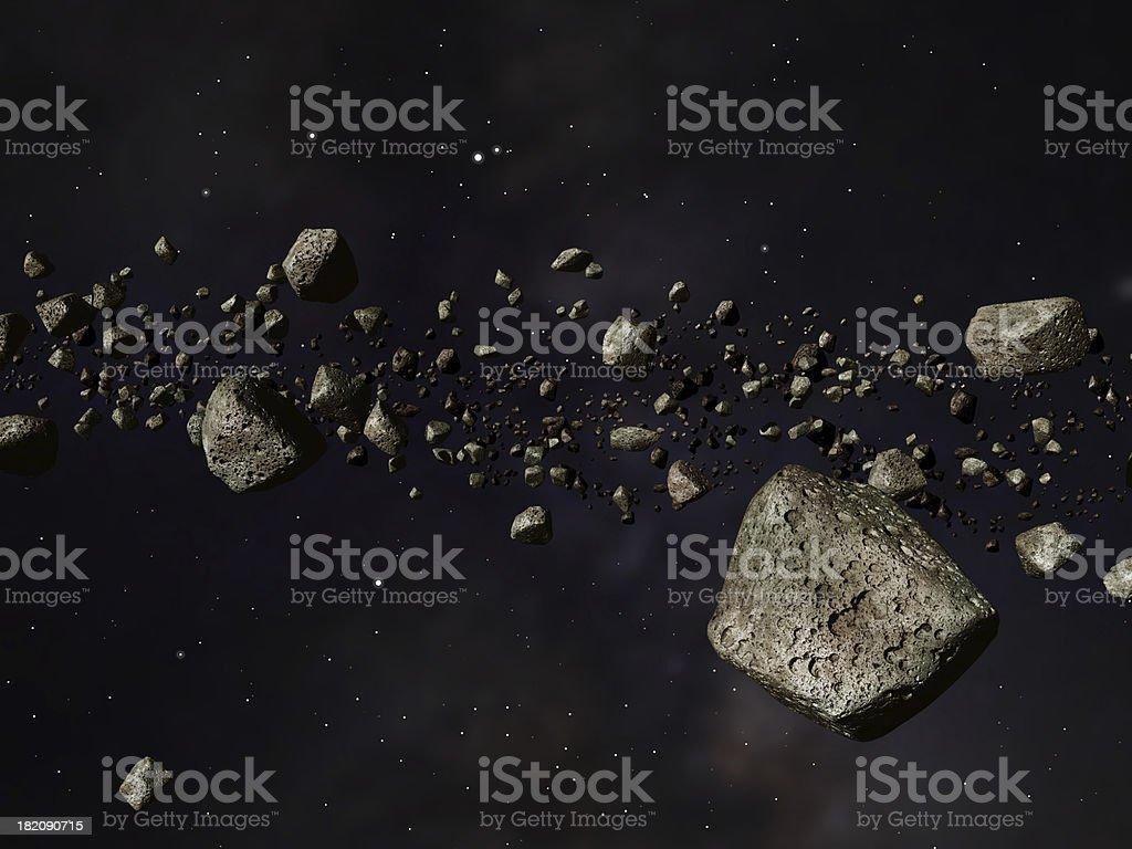 Kuiper Belt stock photo