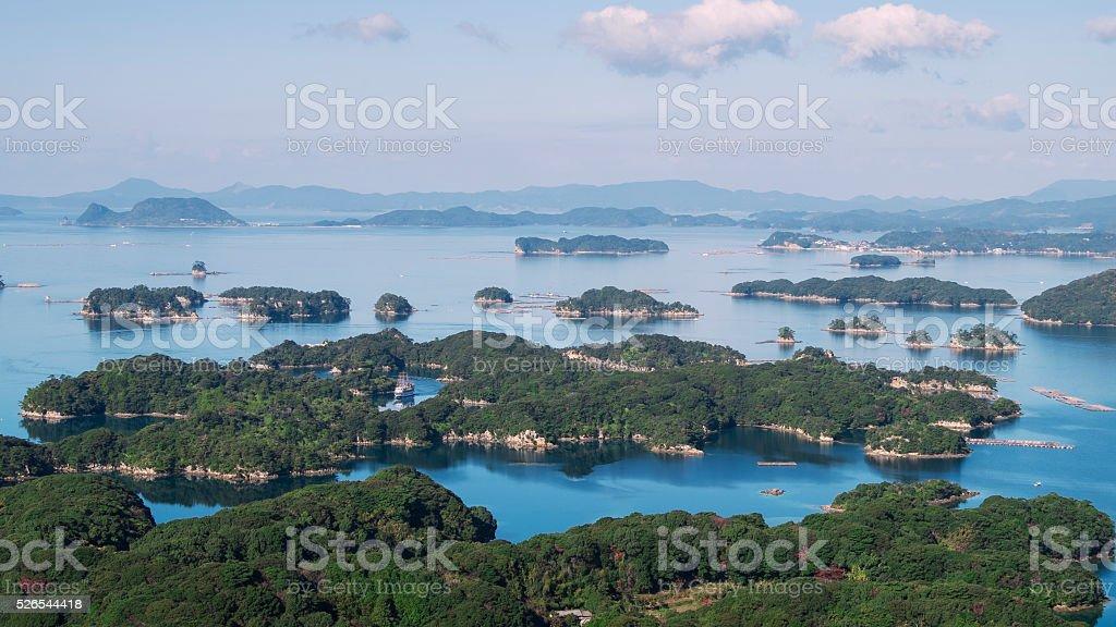 Kujuku Islands stock photo
