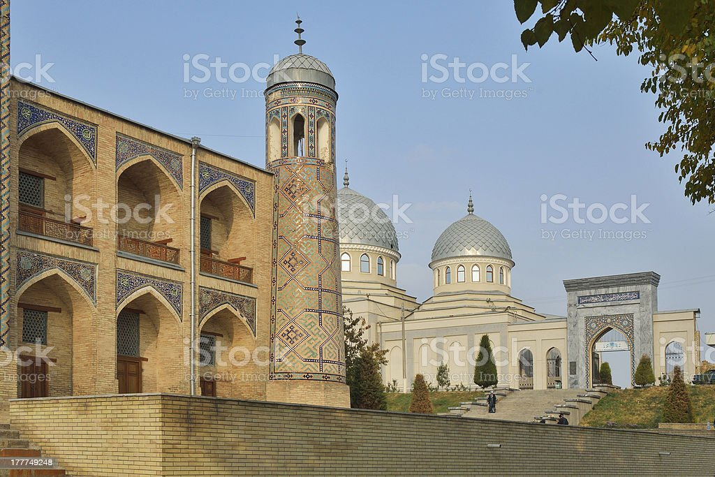Kukeldash Madrasah in Tashkent stock photo