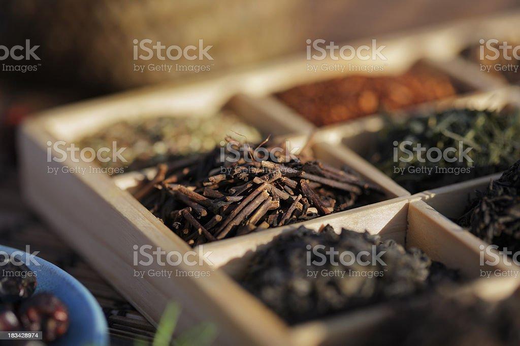 Kukicha Tea stock photo