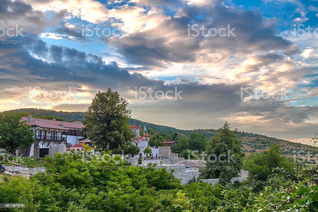 Kuklen Monastery stock photo