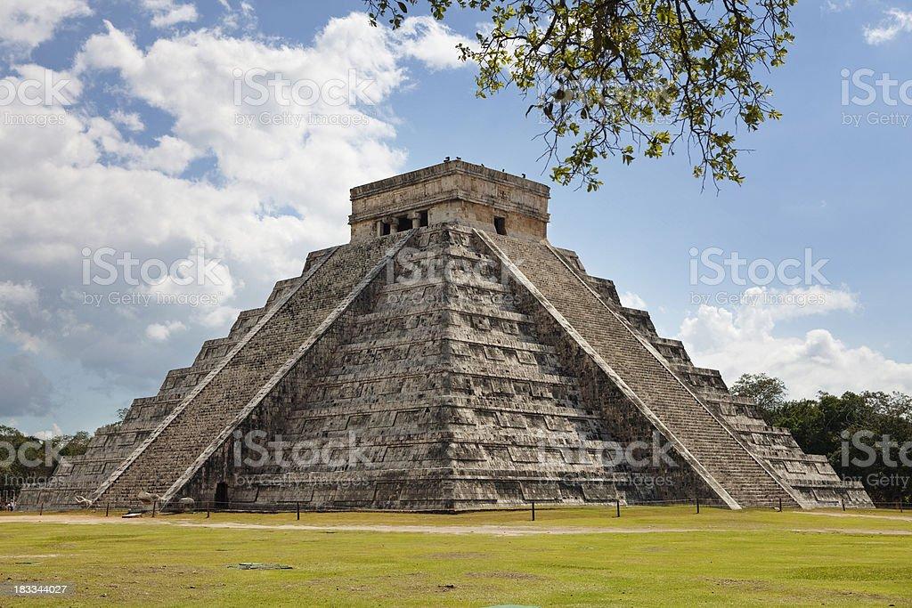Kukulkan Pyramid stock photo