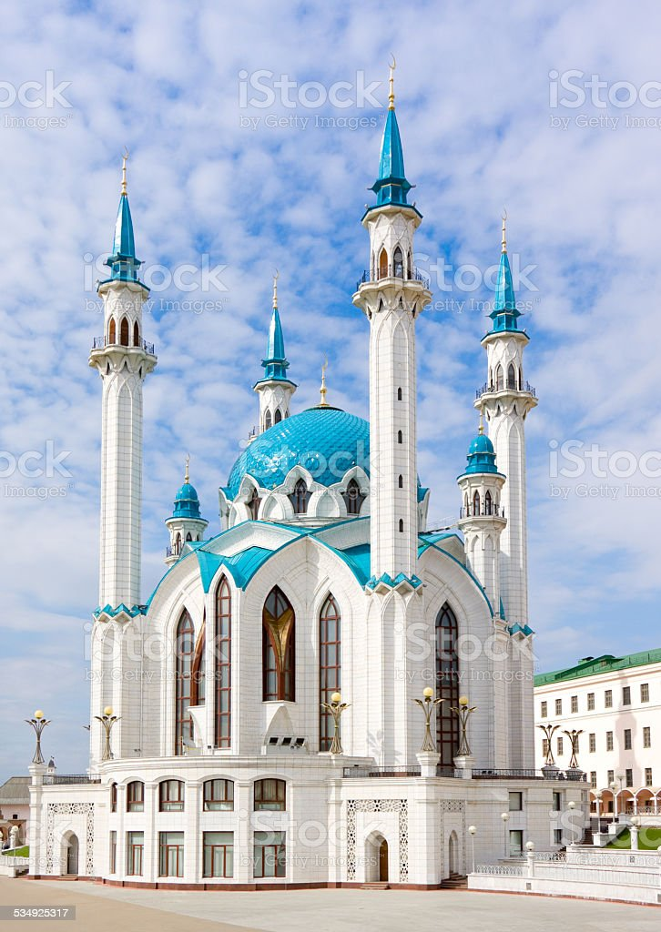 Kul Sharif mosque, Kazan, Russia stock photo