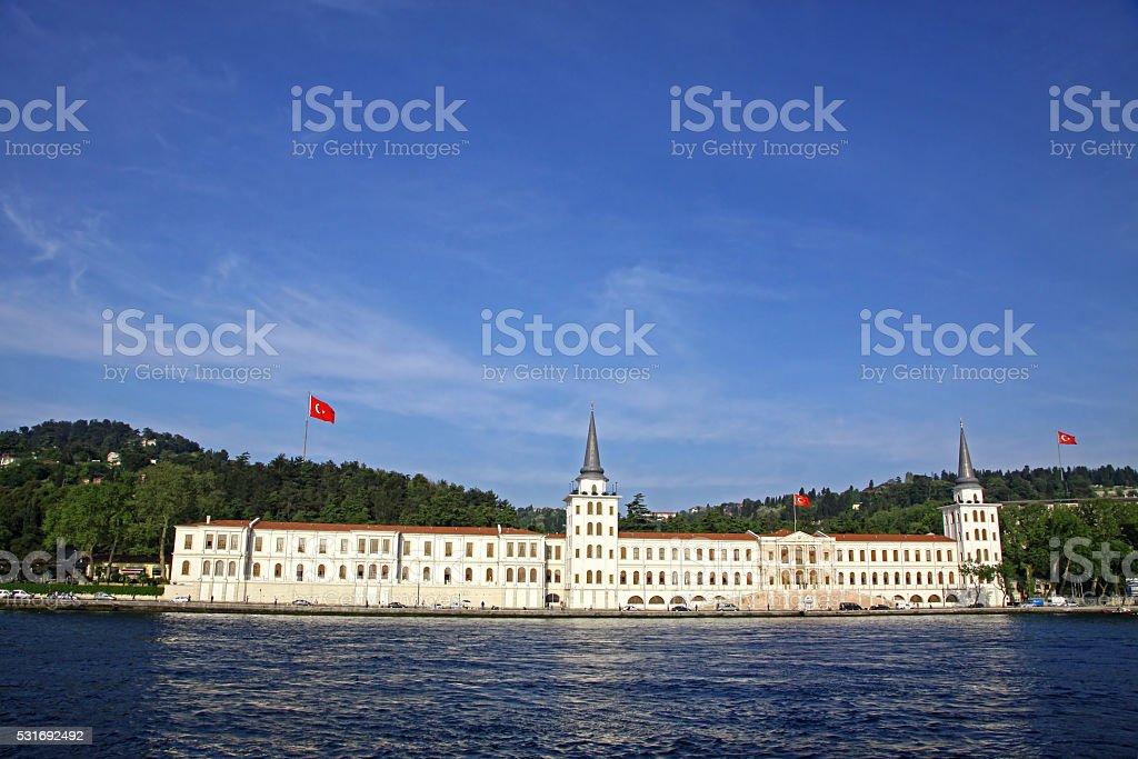 Kuleli Military High School in Istanbul, Turkey stock photo