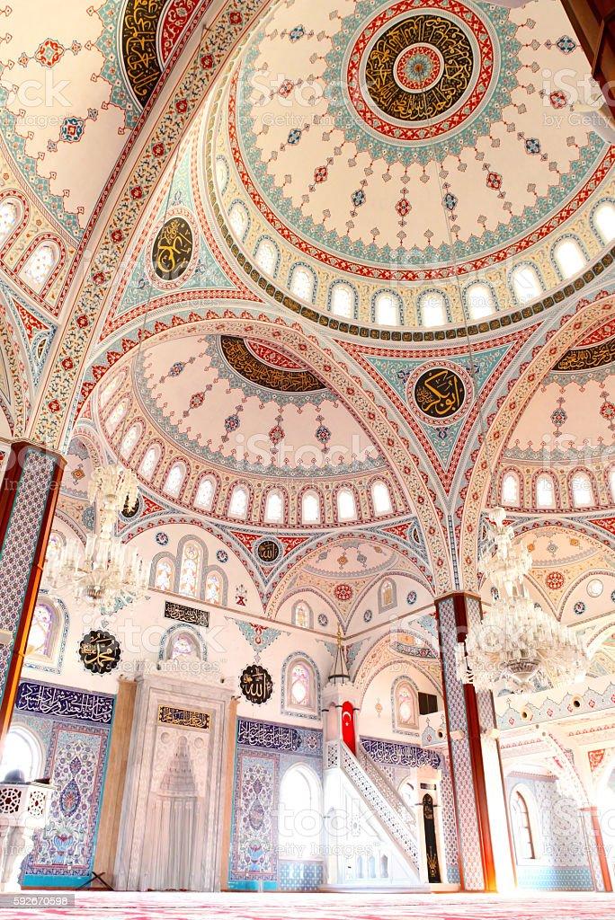 Kulliye mosque stock photo