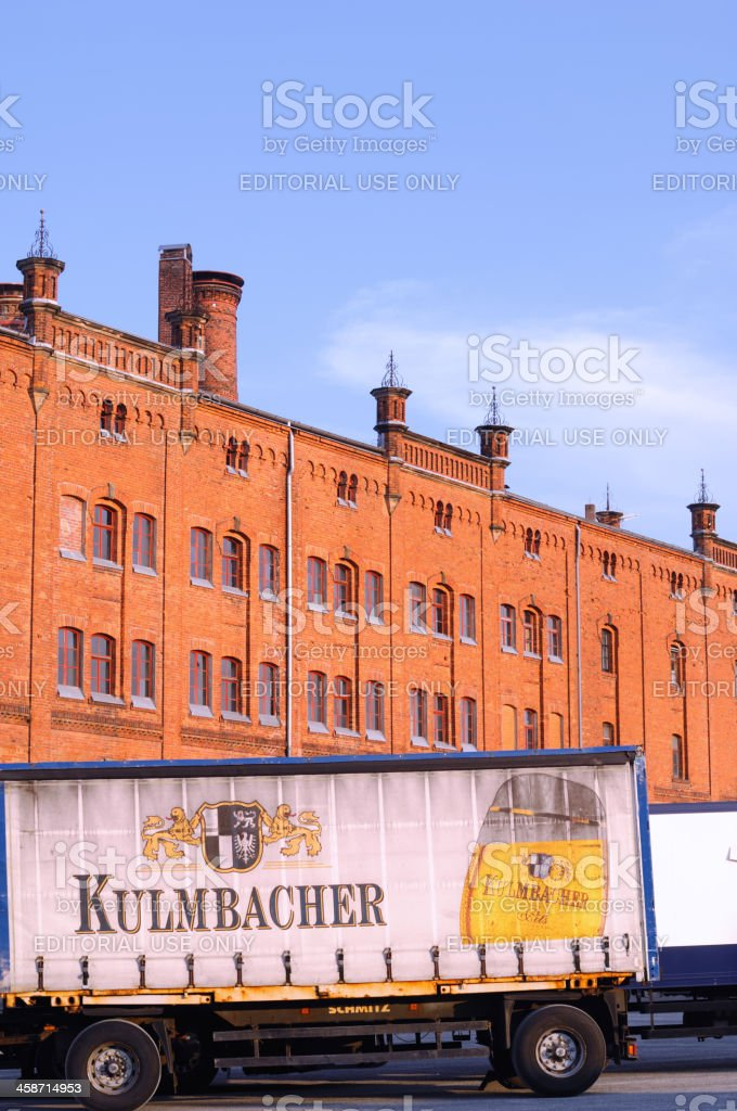 Kulmbacher stock photo