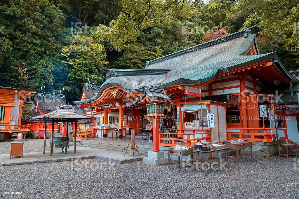Kumano Nachi Taisha Grand Shrine stock photo