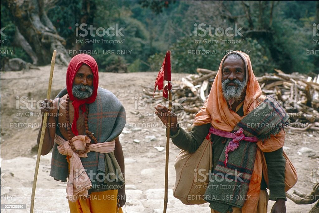'Kumba Mela' Pilgrimage, India 1985 stock photo