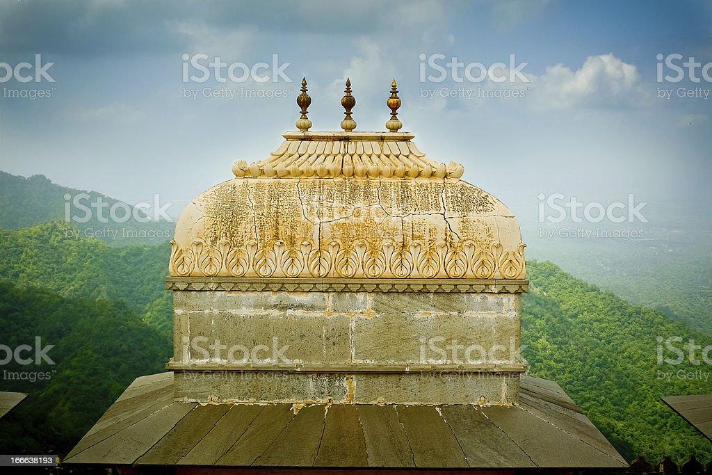 Kumbhalgarh Fort Dome stock photo
