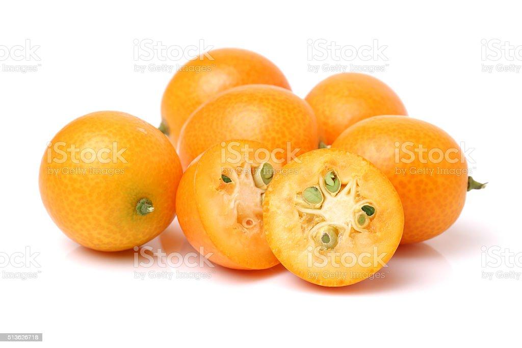 kumquat close stock photo