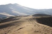 Kumtag desert at Xinjiang