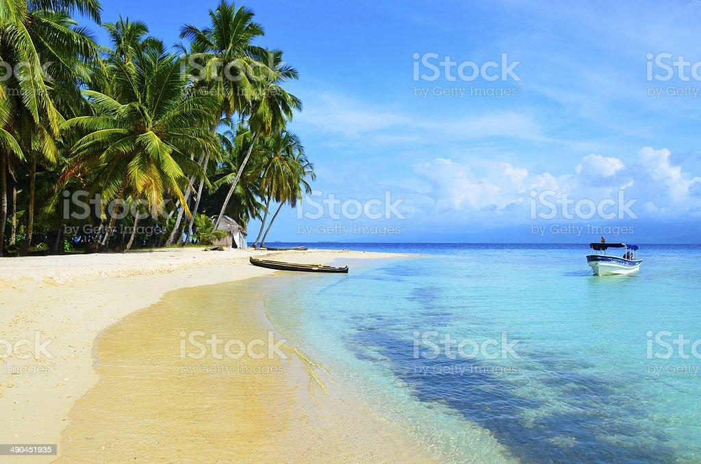 Kuna Yala - San Blas Island stock photo