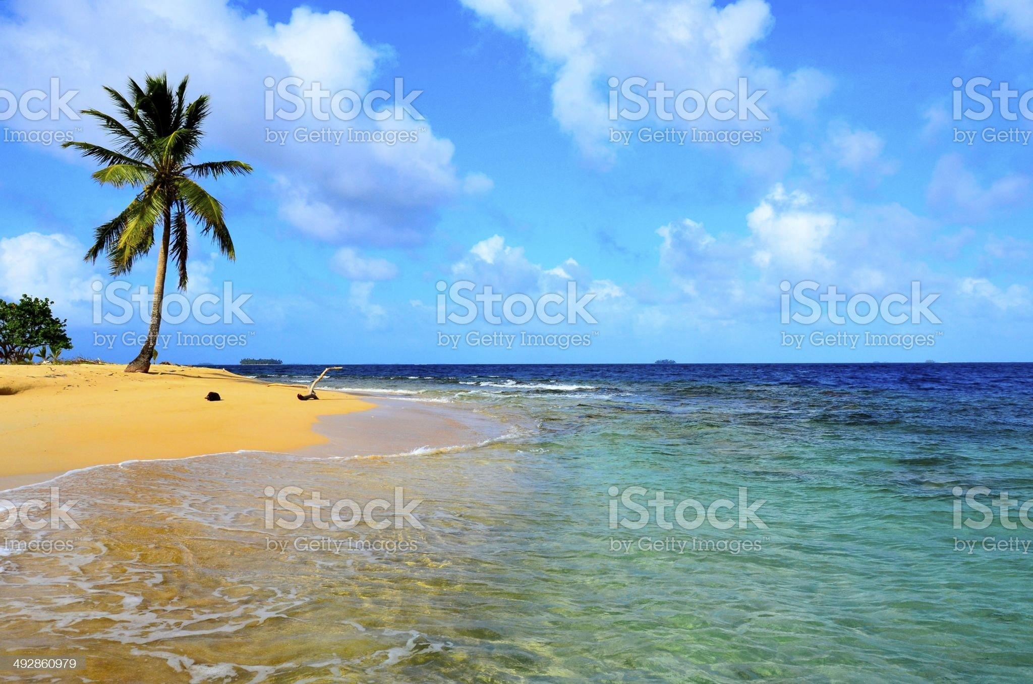 Kuna Yala - San Blas Island royalty-free stock photo