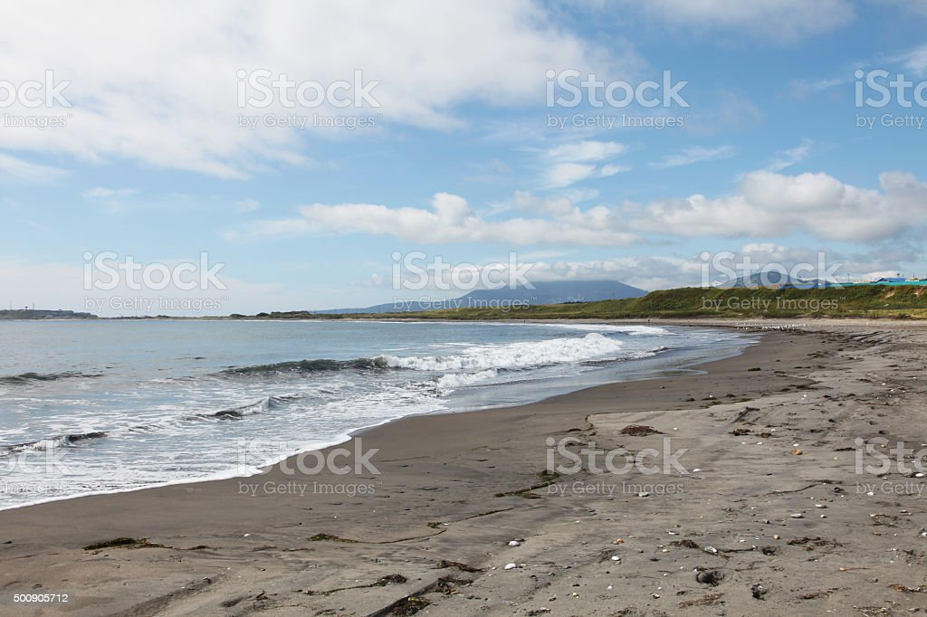 Kunashir island stock photo