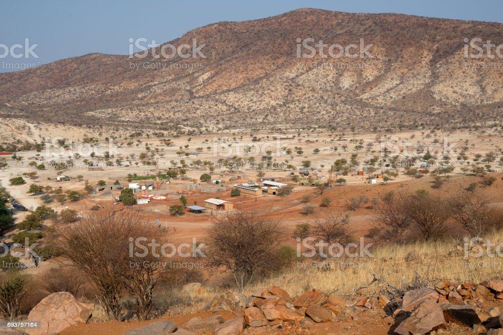 Kunene Region stock photo