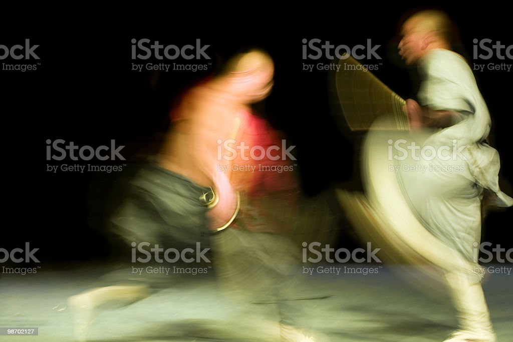 Kung Fu Fighting stock photo