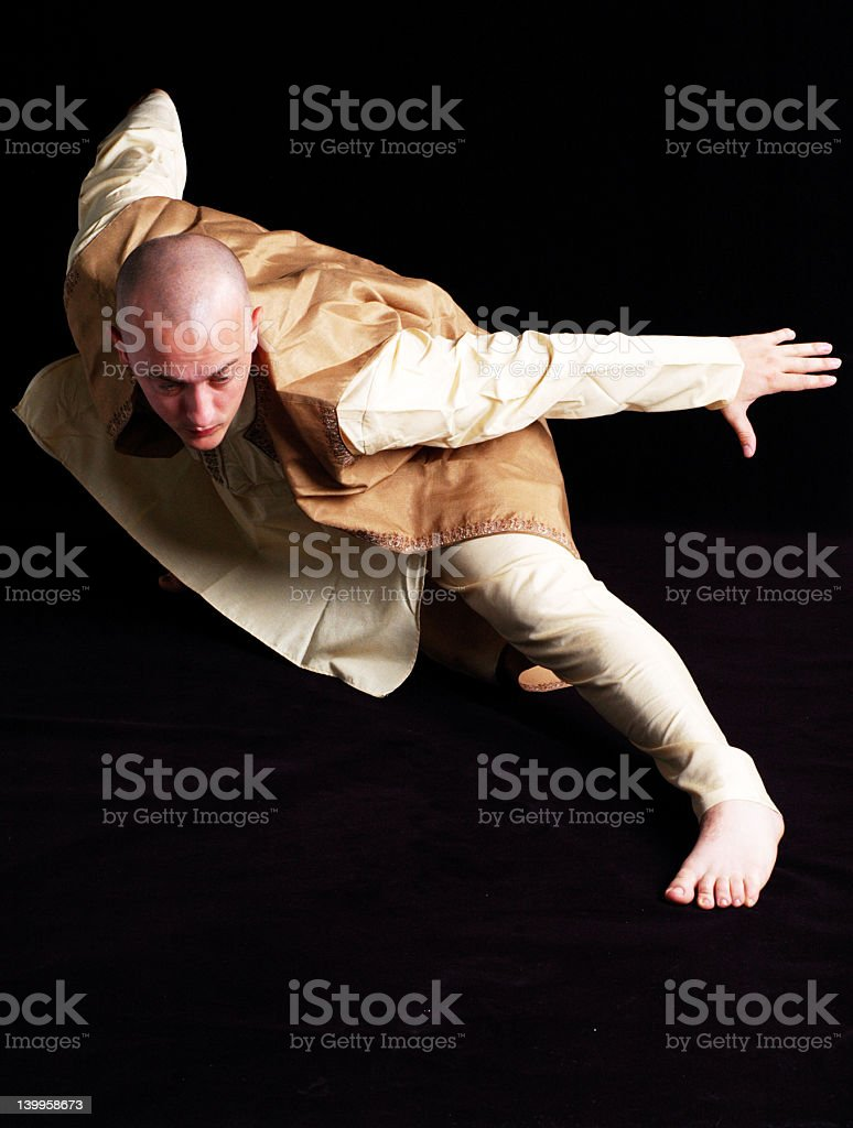 Kung Fu master royalty-free stock photo