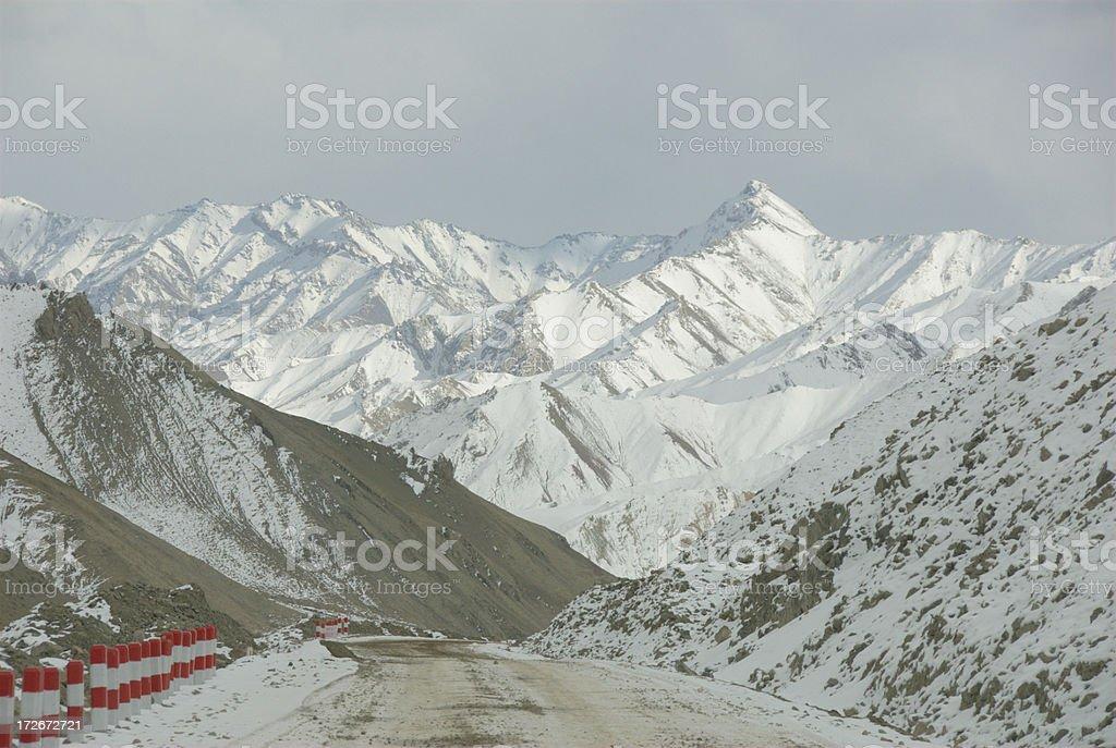 Kunlun mountain range (XinJiang, China) royalty-free stock photo