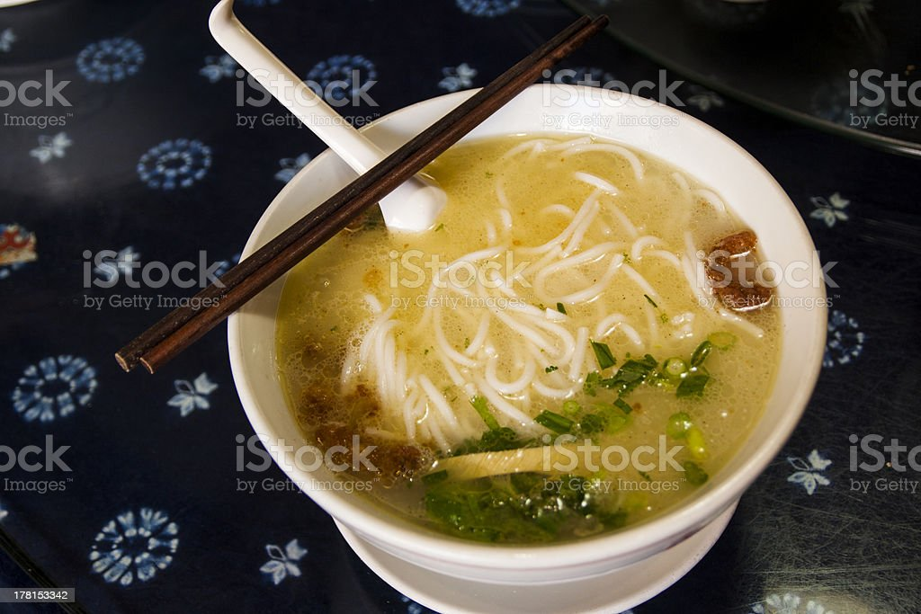 Kunming famous noodle stock photo