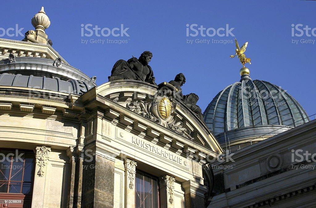 Kunstakademie Dresden royalty-free stock photo
