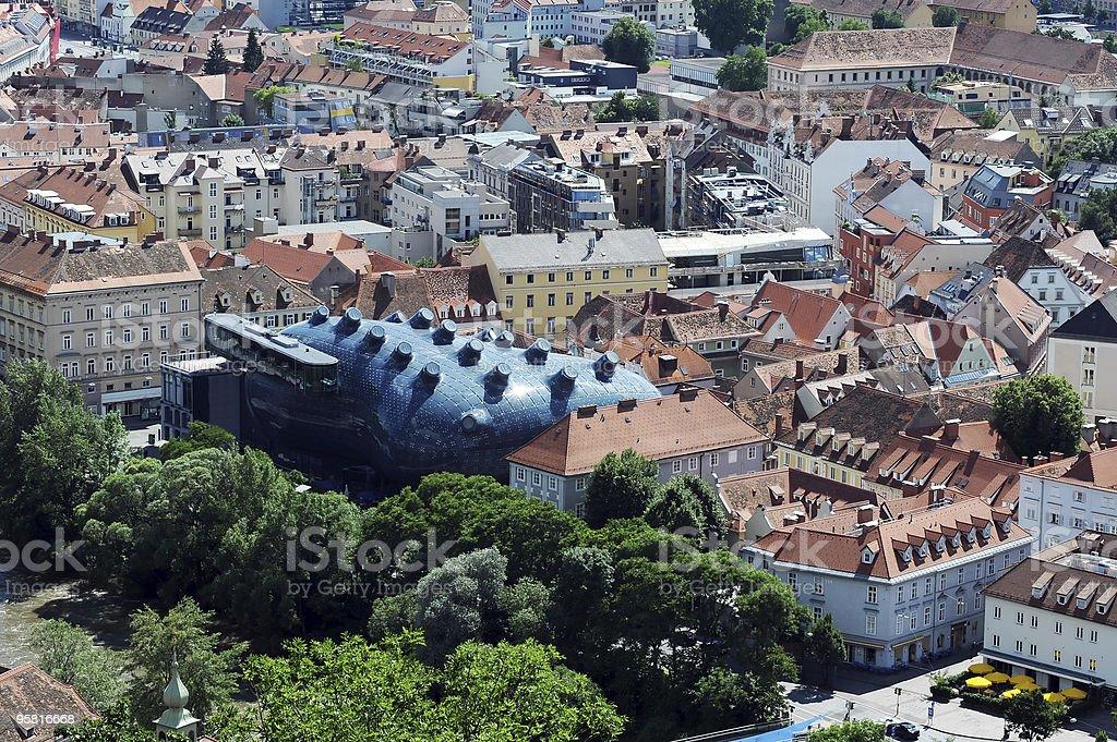 Kunsthaus, Graz, Austria stock photo