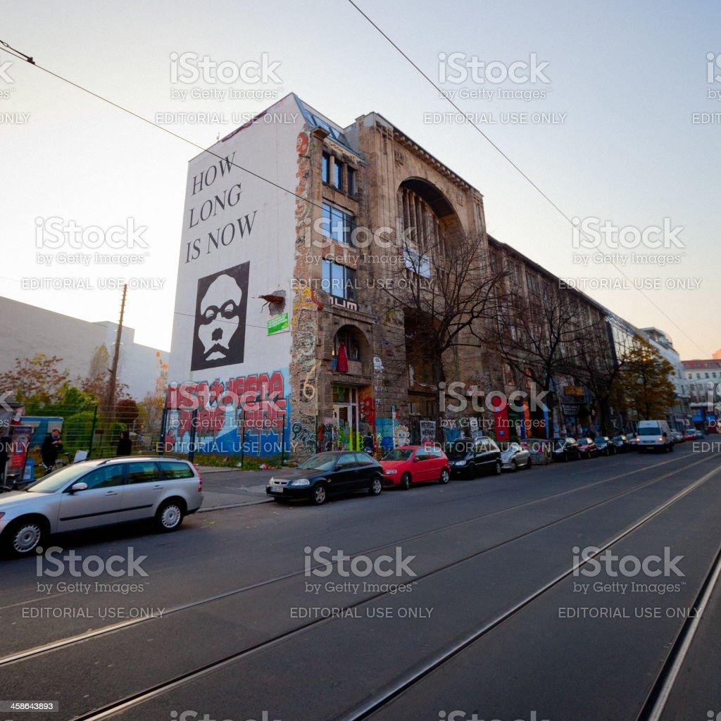 Kunsthaus Tacheles, Berlin stock photo