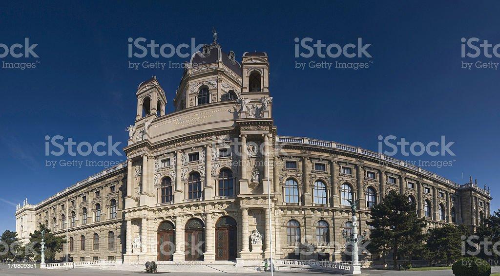 Kunsthistorisches Museum in Vienna, Austria. stock photo