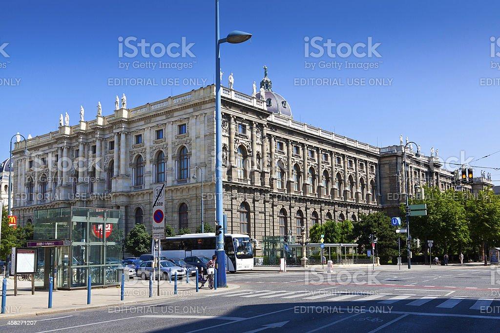 Kunsthistorisches Museum in Vienna. stock photo