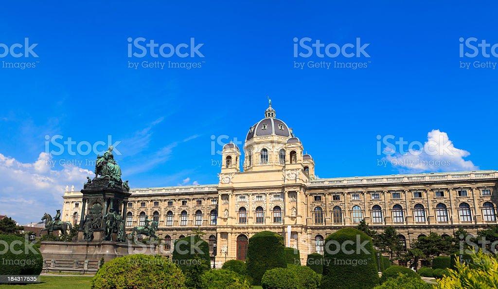 Kunsthistorisches Museum stock photo