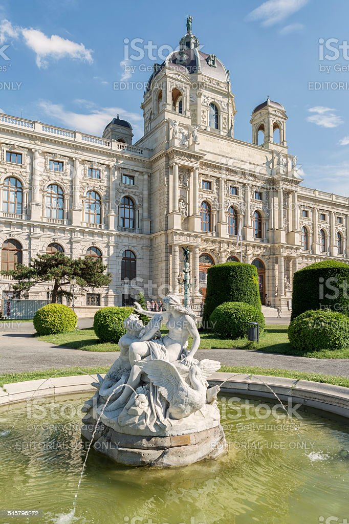Kunsthistorisches Museum (Museum of Art History), Vienna, Austria stock photo