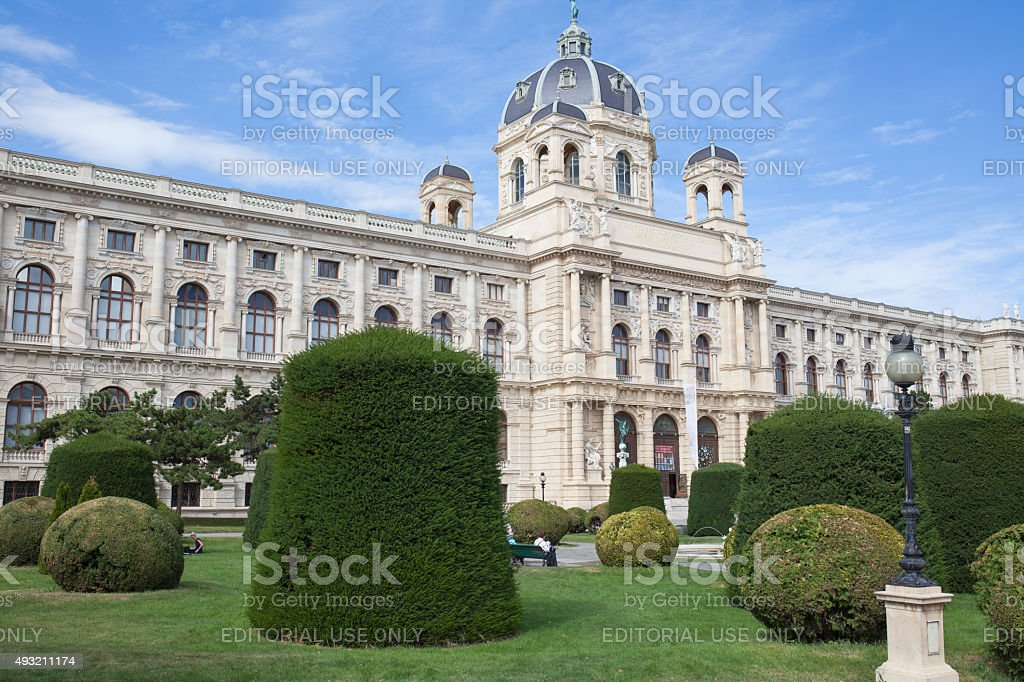 Kunsthistorisches Museum Vienna stock photo