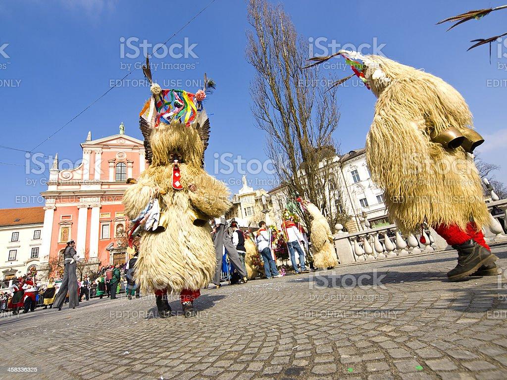 Kurents in LJubljana royalty-free stock photo