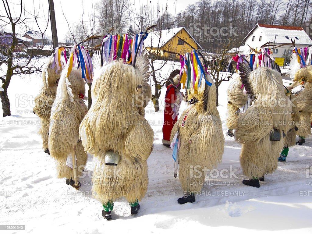 Kurents in Markovci royalty-free stock photo