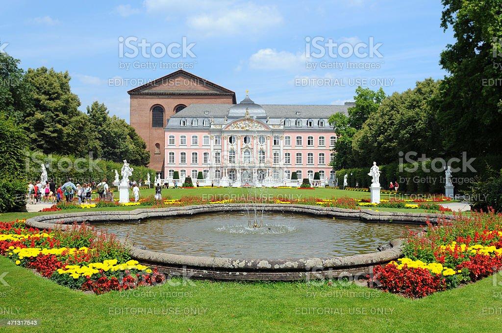 Kurfürstliche Palais in Trier (Germany) stock photo
