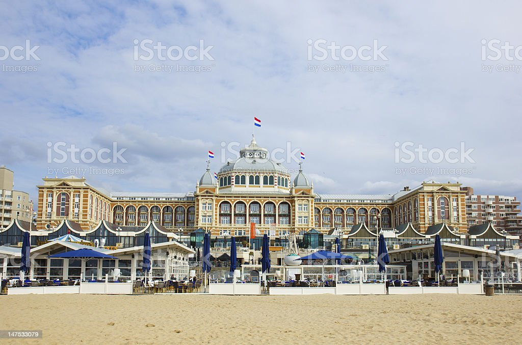 Kurhaus, Hague, Holland stock photo