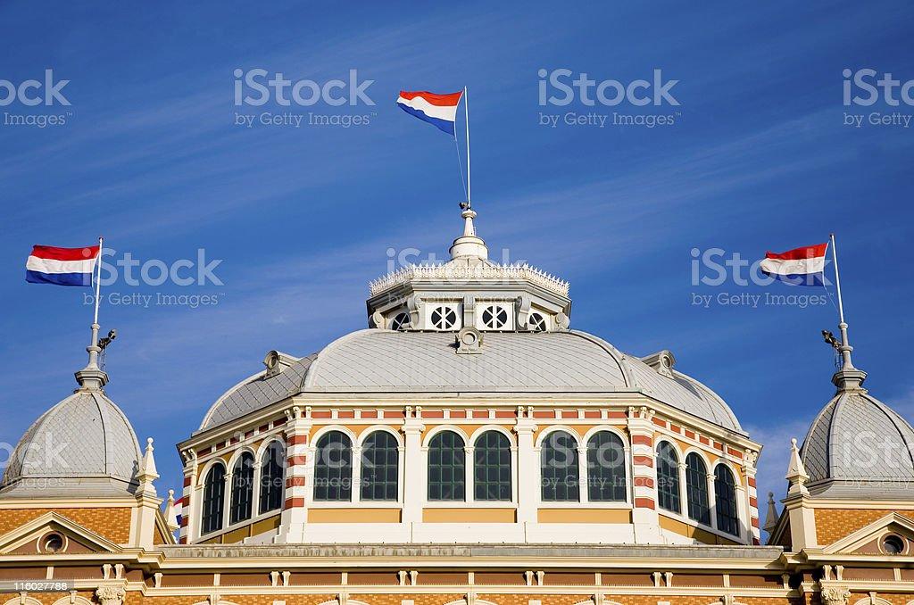 Kurhaus in Scheveningen royalty-free stock photo
