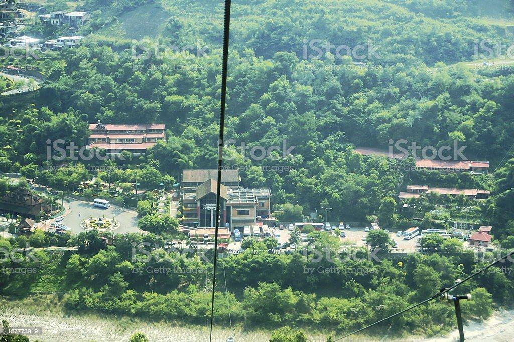 Kurintar cable car station. Manakamana Mandir-Nepal. 0356 stock photo