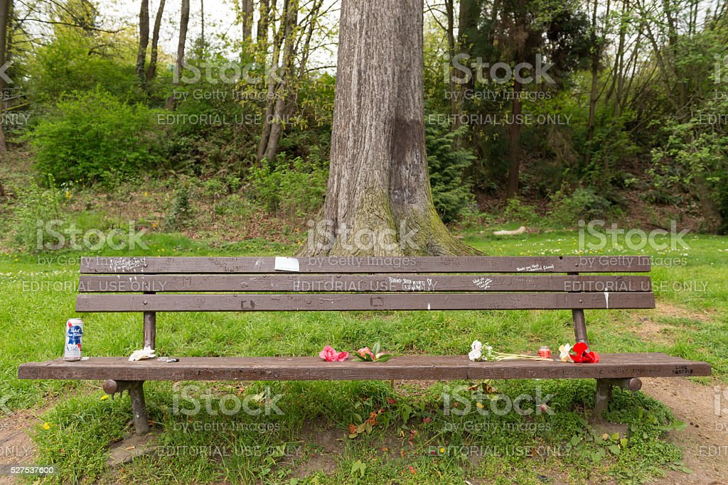 Kurts Bench stock photo