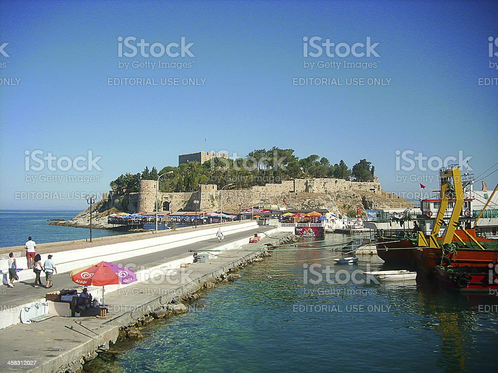 Kusadasi Port royalty-free stock photo