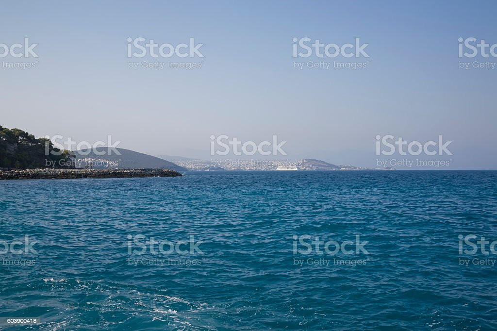 Kusadasi Turkey stock photo