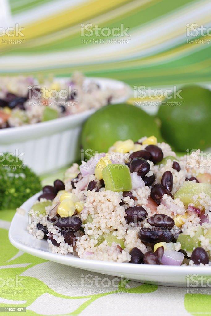 Kuskus Salad stock photo
