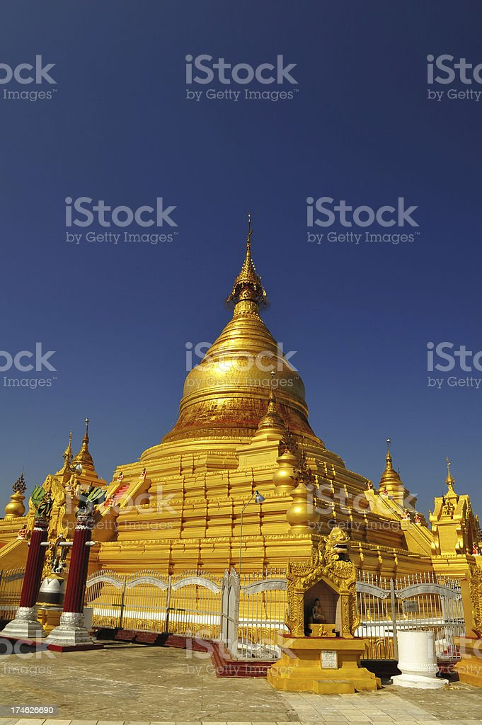 Kuthodaw paya royalty-free stock photo