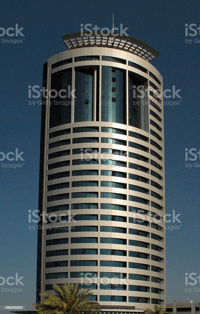 Kuwait City: Ahmed Tower stock photo