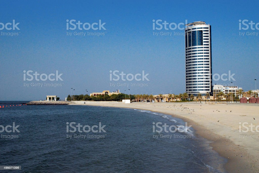 Kuwait City: beach stock photo