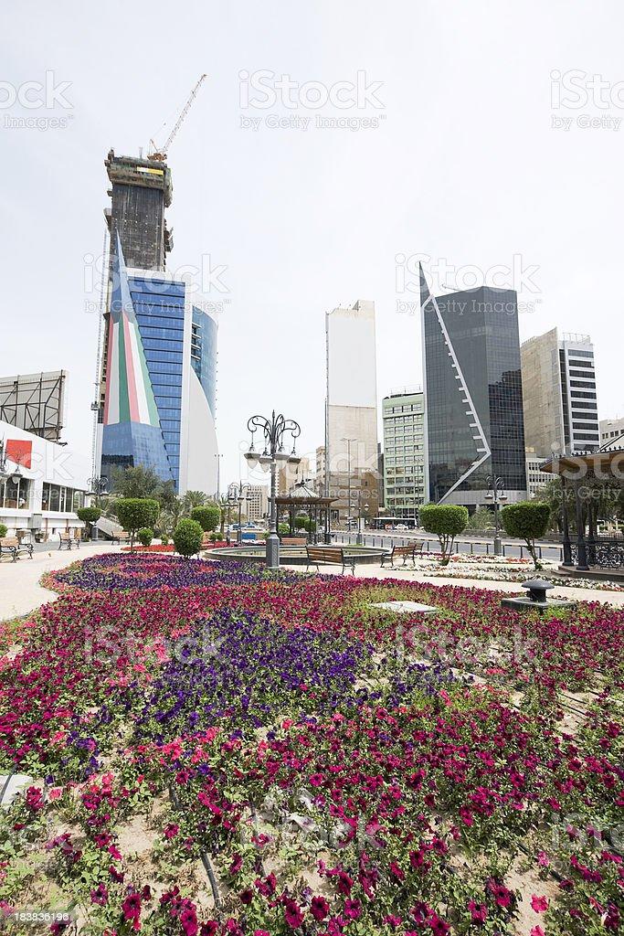 Kuwait downtown royalty-free stock photo