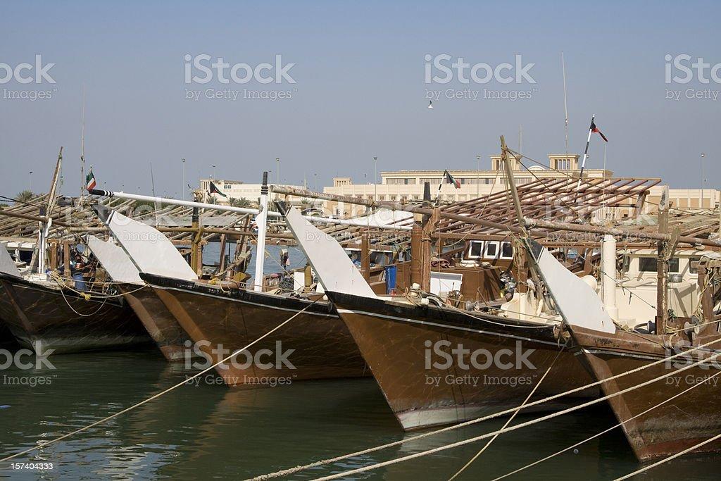 Kuwait fishmarket royalty-free stock photo
