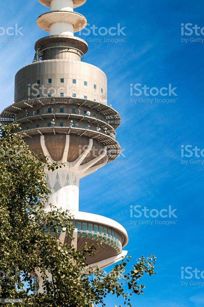 Kuwait Liberation Tower - Close Up stock photo