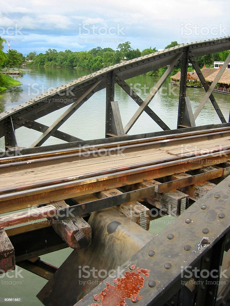 kwai bridge royalty-free stock photo