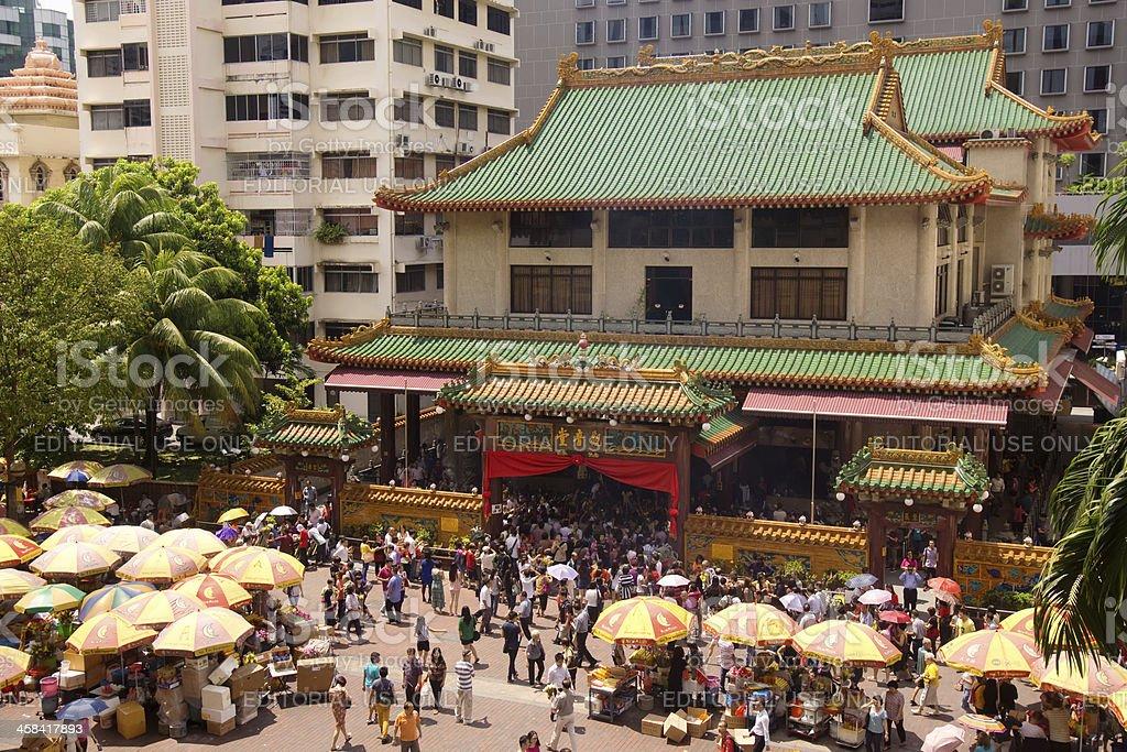 Kwan Im Thong Hood Cho Temple royalty-free stock photo