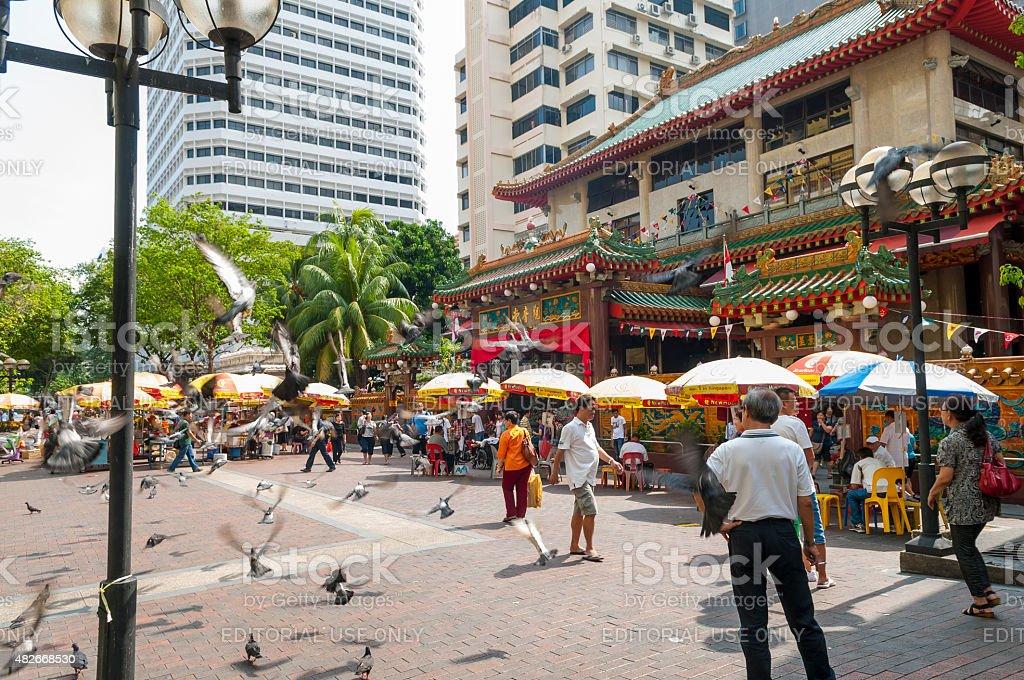Kwan Im Thong Hood Cho Temple, Singapore stock photo